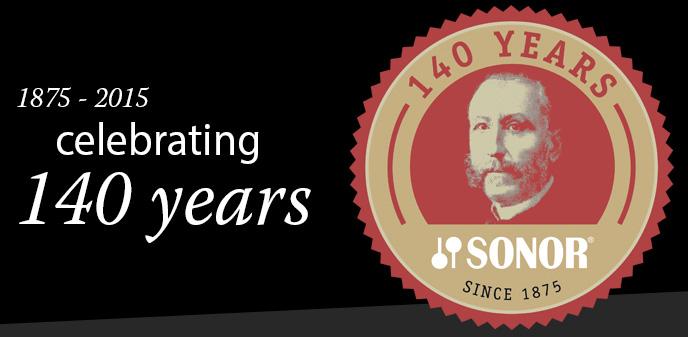 1875 - 2015 - 140 Jahre SONOR