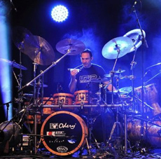 Marcel van Cleef am 18.5.2013 bei DRUMS ONLY in Koblenz