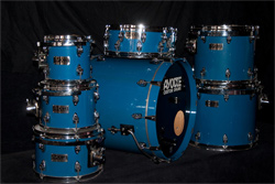 AYOTTE CUSTOM DRUMS Pearlescent Pacific Blue