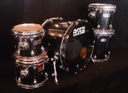 AYOTTE CUSTOM SET in Black Sparkle Lacquer