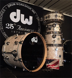 DW Collectors VINTAGE WHITE PEARL