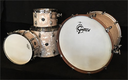 GRETSCH - Renown Maple Shellset in Vintage White Marine Pearl