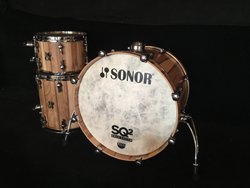 SONOR - SQ2  Vintage Birch Shells , American Walnut Veneer