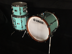 YAMAHA-New Recording Shellset in SURF GREEN Lacquer Finish